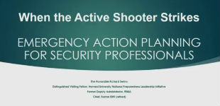 Webinar: When the Active Shooter Strikes