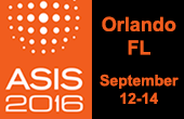 ASIS 2016 Conference