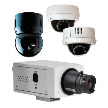 collage of cameras