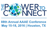 AAAE Conference 2016