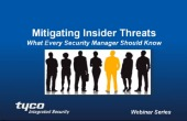 Webinar: Mitigating Insider Threats - What Every Manager Should Know