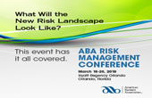 ABA Risk Management Conference 2018