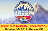 SONIC 20/20 Summit: Sonic National Convention 2017, October 3 – 5